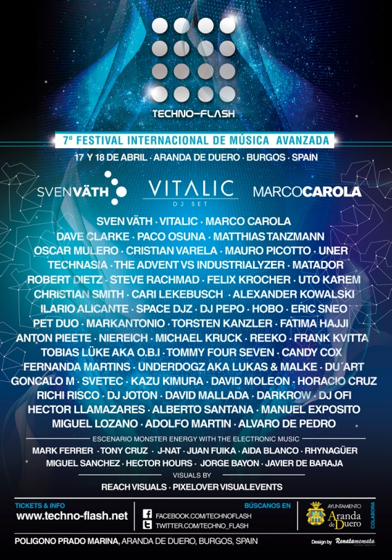 cartel techno flash 2014